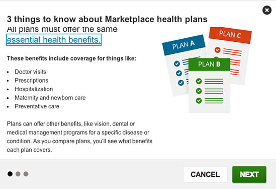 helpful tips for knowing which marketplace plan to choose