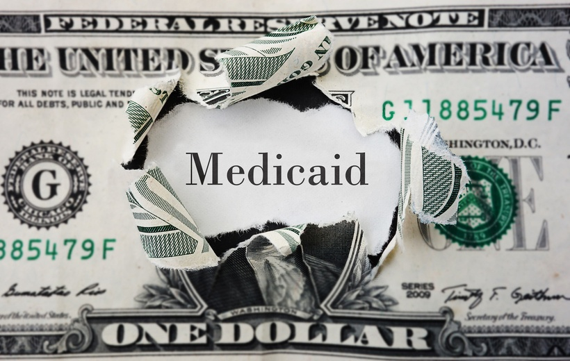 The candidates on Medicaid