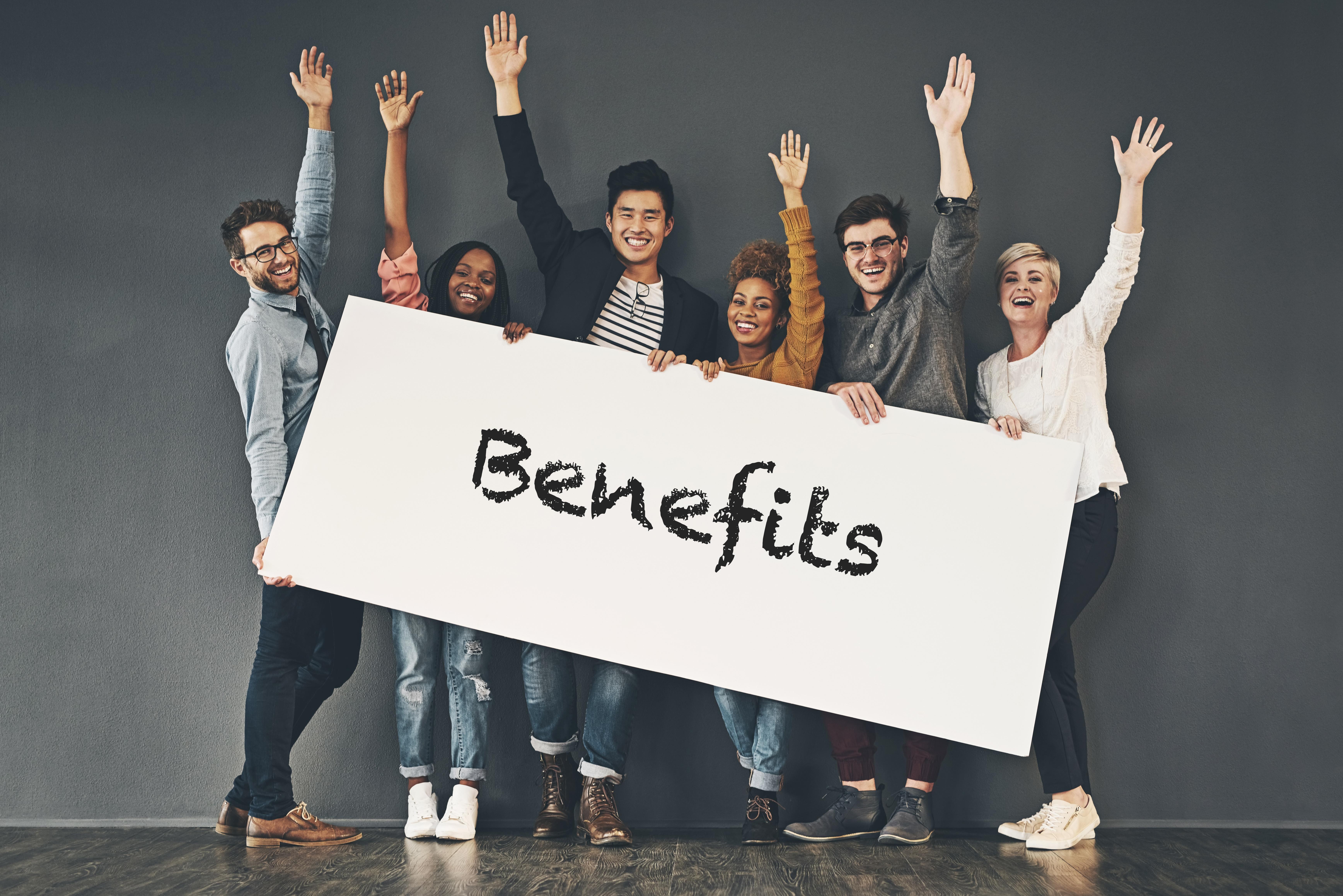 Top 5 most attractive employee benefits
